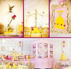 Festa A Bela e A Fera, para você, debutante que adora as princesas da Disney!