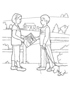 Primary coloring sheet from lds.org. For more LDS coloring pages, go to http://www.lds.org/media-library/images/primary/line-art