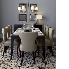 Nice dining table chandelier