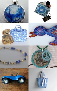Blue Love by VascoDesign on Etsy--Pinned with TreasuryPin.com