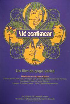 'Kid Sentiment' a movie from Jacques Godbout, 1 9 6 8. Production de l'Office National du Film du Canada.