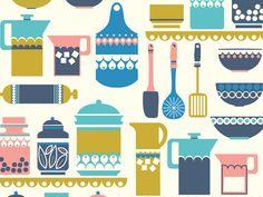 Pattern Inspiration  - Kitchen themed!