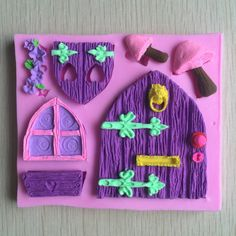 Image result for fairy house cakes