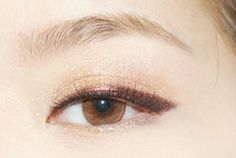 eye, asian, and make up image  -- This is a great eyeliner look for hooded eye's too!