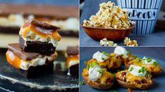 Sofasnadder til OL: Kyllingklubber, potatoskins, karamell-popcorn og «Snickers»-brownie