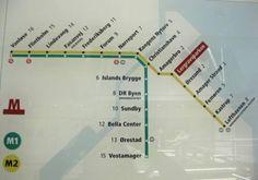 Copenhagen metro, read about the subway on the blog Top Copenhagen Tourist Attractions. Instagram: @zoe_escher.
