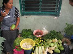"""In Oaxaca, Mexico, Fresh, Locally Grown Food is Not a """"Movement"""" - NYTimes.com  A vendor at Mercado de la Merced in Oaxaca, Mexico, where produce grown on small local farms is sold throughout the city."""