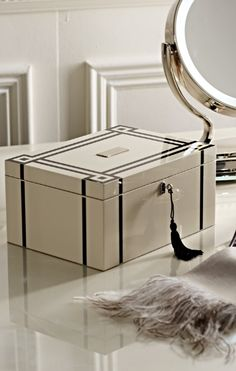 Inside and out, our WOLF Lacquer Jewelry Box will last a lifetime.