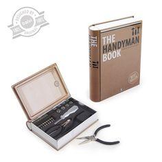 Toolset TheHandymanBook tin - Balvi