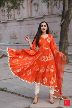 9 Anarkali Kurtis That Every Woman Should Own #WomenFashion #Fashionista #FashionOutfits #Kurtis #AnarkaliKurtis #Rajasthan