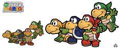 New Paper Mario: Koopa Bros. by *Nelde on deviantART