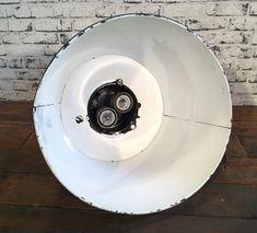 Black Enamel Factory Lamp Industrial Lamps, Black Enamel, Plates, Tableware, Licence Plates, Black Polish, Dishes, Dinnerware, Plate