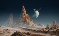 Scientists Claim: Saturn's Moon Titan Harbor Mysterious Kind of Life