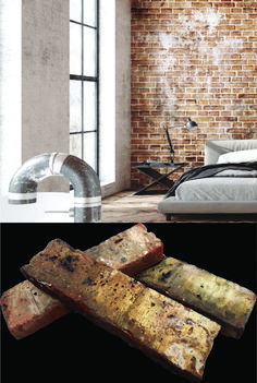 Timber Feature Wall, Timber Wall Panels, Timber Walls, Feature Walls, Brick Cladding, Brick Paneling, Brick Tiles, Industrial Interior Design, Industrial Interiors