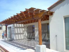 pergola plans | Beam Size For Long Span On Pergola - Page 2 - Decks & Fencing ...