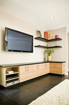 When the room is small and you've got sufficient space, use shelves cabinets to increase the attractiveness of your living room. Nevertheless, this may be used to soothe a room, . Read Cool Living Room Shelves Design Ideas That You Need To Copy