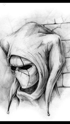 Realistic Devil Drawing : realistic, devil, drawing, Ideas, Skull