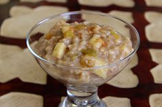 Start your Autumn off with a perfect Chai Spice & Apple Rice Pudding!