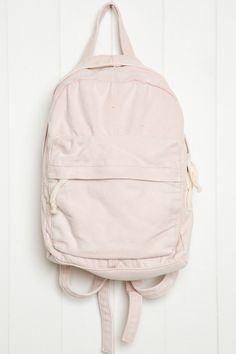 Brandy ♥ Melville | Pink Canvas Mini Backpack - Bags & Backpacks - Accessories