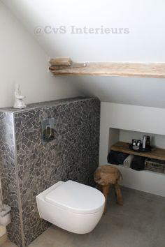 Stoer Landelijke badkamer - Colette van Schilt Interieurs