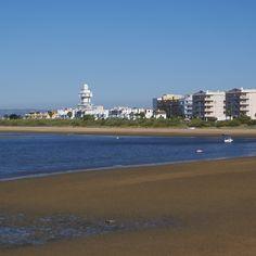 Playa Punta del Caiman en Isla Cristina (Huelva)