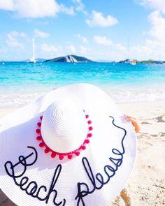 "louisiana-prep:  ""{ beach hat } -on sale under $20!!!!  """