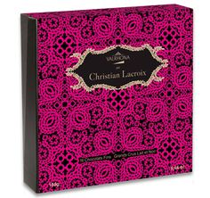 French Valrhona fine chocolates - One of the 10 Best Chocolatiers in the World - Partnership with couturier Christian Lacroix - Valrhona has been creating exceptional gourmet chocolate since 1922, with cocoa beans purchased directly from premier plantations in South America, the Caribbean, and Pacific regions. A perfect French edible gift.
