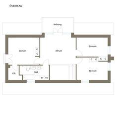 Skandiavägen 4 D Floor Plans, Floor Plan Drawing