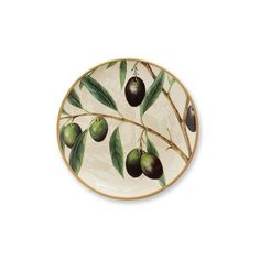 Williams-Sonoma Wine Country Botanical Salad Plates Set of 2 (35 CAD) ❤ liked on Polyvore featuring home, kitchen & dining, dinnerware, black dinnerware, country dinnerware, green dinnerware, earthenware dinnerware and country style dinnerware