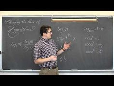 Change of Base Formula Logarithms - YouTube