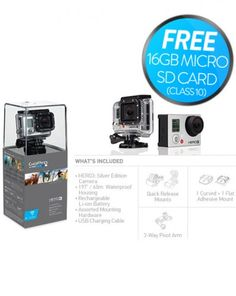 Visit the official GoPro site to find the world's most versatile action cameras. Capture and share your world with our HD video cameras. Gopro Hd, Gopro Camera, Gopro Hero 3 Silver, Newest Gopro, My Past Life, Holiday Deals, Cool Gear, Audio System, Hd Video