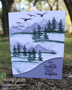 Purple Mountain Majesty for CTD Featured Stamper