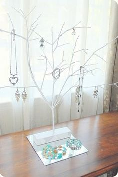 Earring hanger tree :D