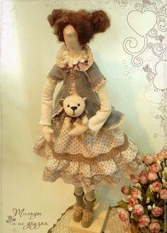 Купить Кукла Тильда: Мариша - тильда, кукла Тильда, куклы тильды, текстильная кукла ☆