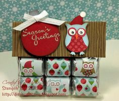 Whooo's Sweet on Christmas? by pixiedustmom - Cards and Paper Crafts at Splitcoaststampers