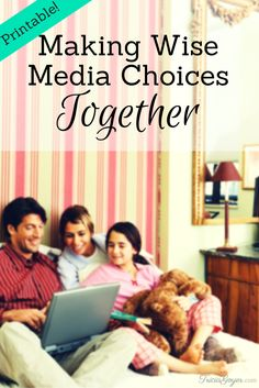 Is it possible to teach my kids values—especially a love for God and family—without moving to a deserted island. Or worse, disconnecting cable forever? Here are some tips for making wise media choices as a family...plus a free printable!