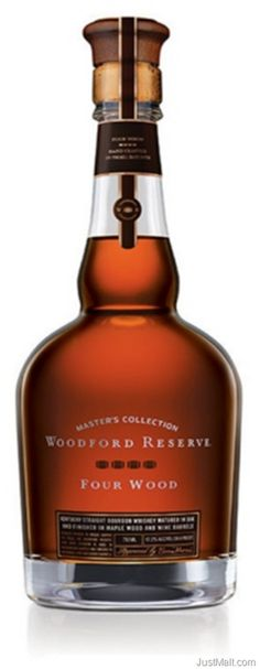 """Woodford Reserve Releases Limited Edition 'Four Wood' Bourbon . . . obviously not a Scotch, but a fabulous sipping Bourbon. I highly recommend it."""