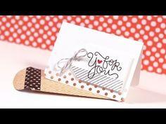 Kristina Werner #1 - Simple Gift Card & Envelope - Make a Card Monday #232