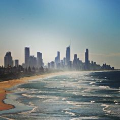 Surfers Paradise #Australia  I loved the beaches here. The sunrise was the most beautiful thing I've ever experienced