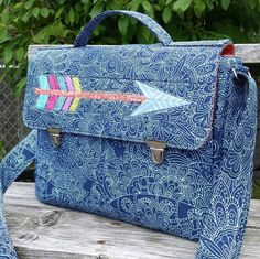 The Dorian Messenger Bag PDF Pattern + 10 Sewing Tips from the Experts