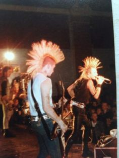 charged gbh live 1980s