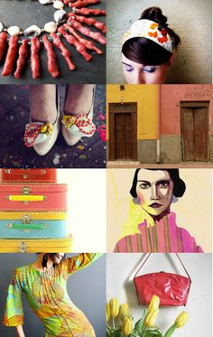 Colorful Day by XenaStyle on Etsy--Pinned with TreasuryPin.com