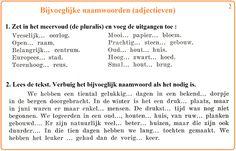 Bijvoeglijke naamwoorden (adjectieven) [2]