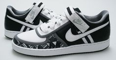Nike Vandal Low – Black / White – Anthracite – Chrome.
