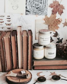 // give me more candles and I'll be forever happy ______ My shop is online ya all 🖤 you can check it out ✨🔥 And the… Autumn Aesthetic, Book Aesthetic, Fall Inspiration, Autumn Cozy, Coffee And Books, Home And Deco, Book Photography, My New Room, Autumn Leaves
