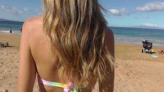 suddle blonde highlights | Balayage Highlights At Home