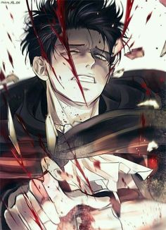 Levi Ackerman Attack on titan Levi Ackerman, Levi X Eren, Armin, Attack On Titan Funny, Attack On Titan Fanart, Manga Anime, Anime Guys, Otaku Anime, Ereri