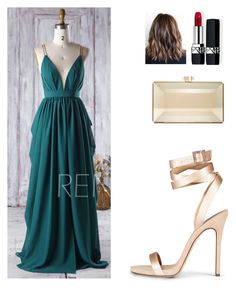 """""""Untitled #46"""" by antoberneche on Polyvore featuring Judith Leiber and Christian Dior"""