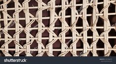 Wicker rattan texture background or backdrop