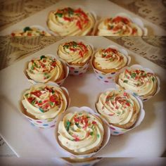 Burfee Cupcakes recipe by Najiya posted on 26 Oct 2017 . Recipe has a rating of by 2 members and the recipe belongs in the Cakes recipes category Eggless Desserts, Eggless Baking, No Bake Desserts, Cupcake Recipes, Baking Recipes, Cupcake Cakes, Cup Cakes, Indian Dessert Recipes, Indian Sweets